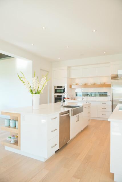 Jenny's Modern Home contemporary-kitchen