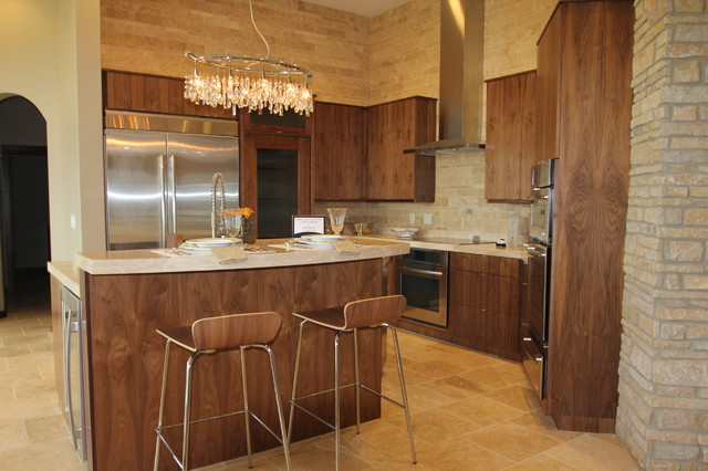 Jerry Bussanmas contemporary-kitchen