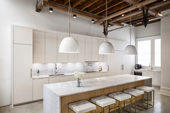 Kitchen of the Week: Industrial Meets Sleek Italian Style