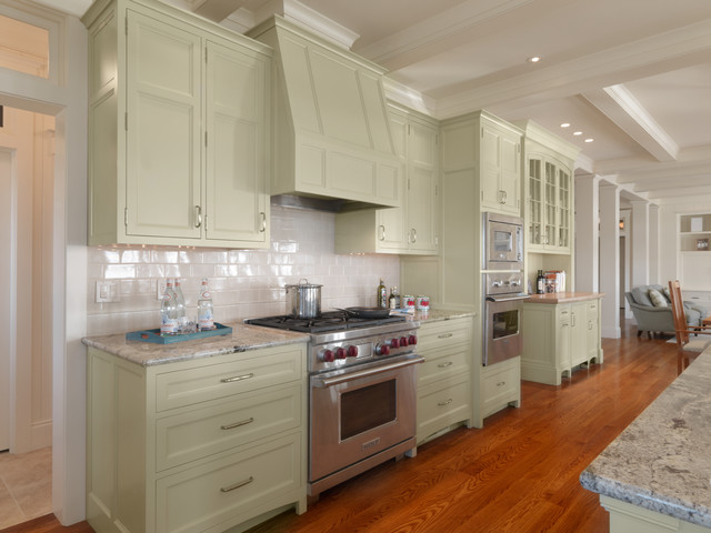 Jersey Sound House traditional-kitchen