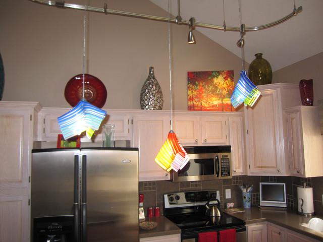 Jesco rail lighting eclectic-kitchen