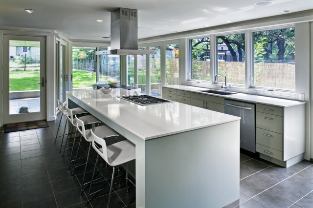 Jewell Street Addition contemporary-kitchen