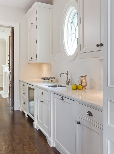 Jill Greaves Design Servery With Walk Through To Dining