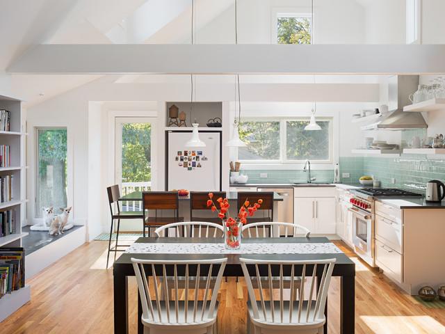 Jindal Houston Residence Contemporary Kitchen New York By Richard Bubnowski Design Llc