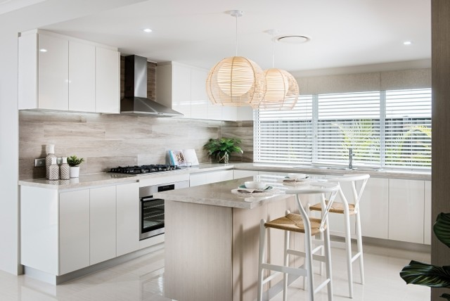 Jindalee Display Home - Perth beach-style-kitchen