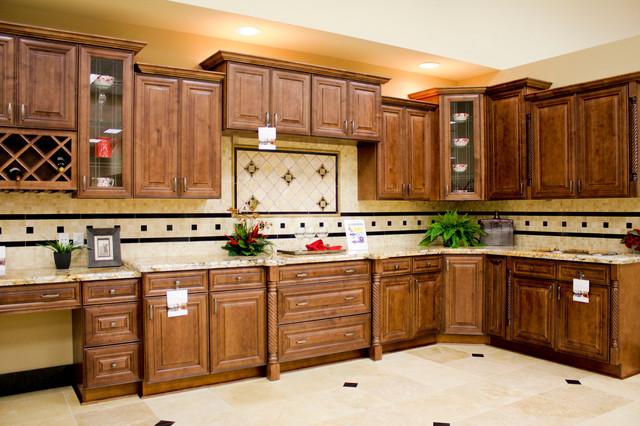 JK KItchen Traditional Kitchen Houston By Natural Stone