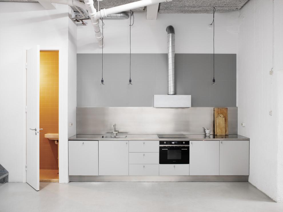 Ispirazione per una cucina industriale
