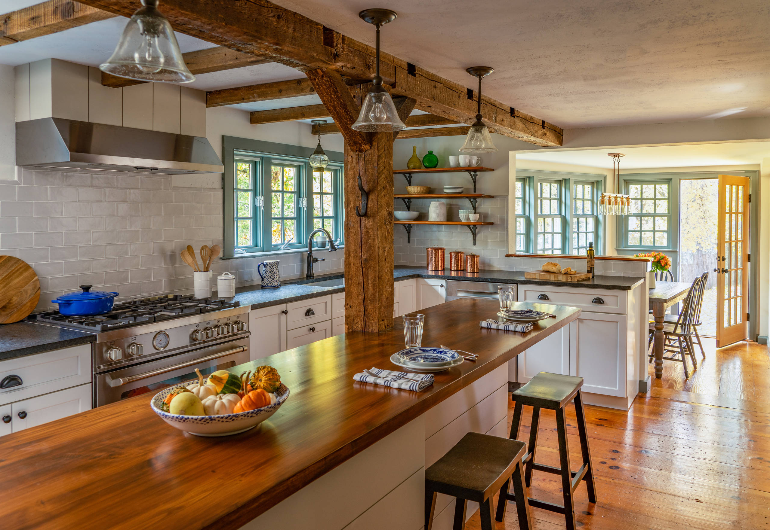 75 Beautiful Farmhouse Kitchen With Granite Countertops Pictures Ideas December 2020 Houzz
