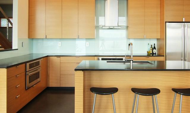 Johnson Pt. ModernContemporary Kitchen, Seattle
