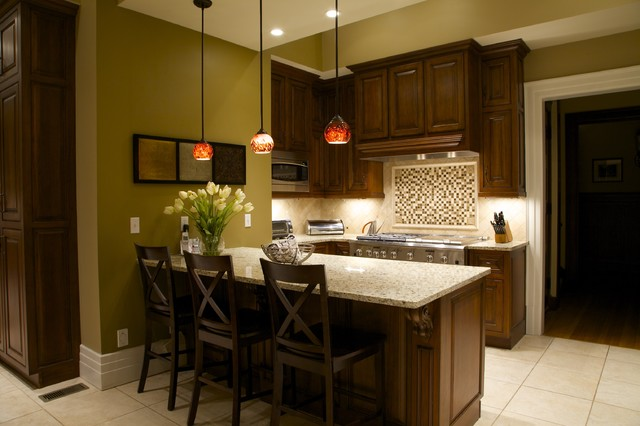 Joni Spear Interior Design mediterranean kitchen