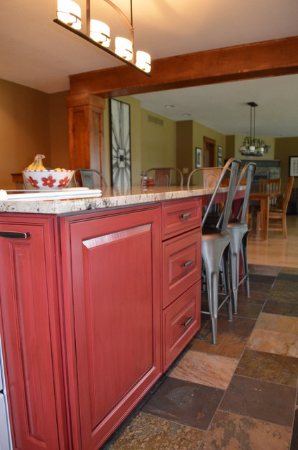 Journey to a Front Door traditional-kitchen