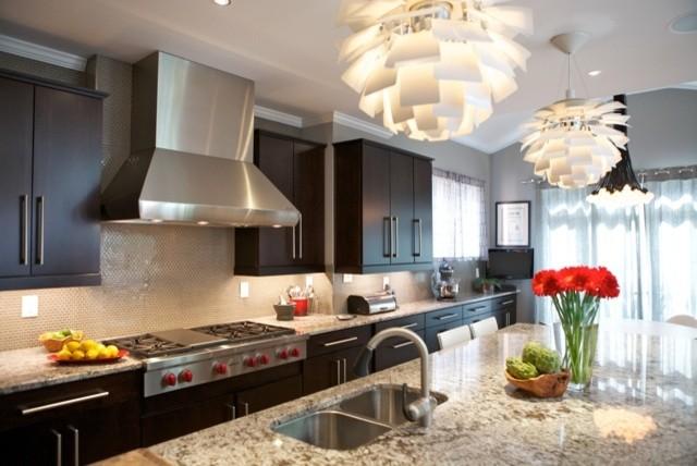 Jr. League Tour of Homes Kitchen contemporary-kitchen