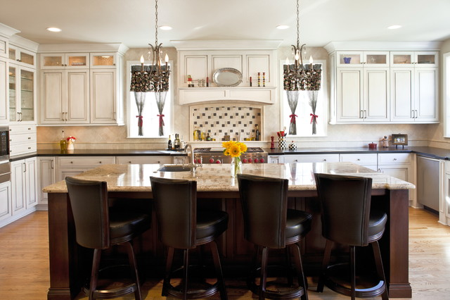 JRP Design and Remodel, Inc. traditional kitchen