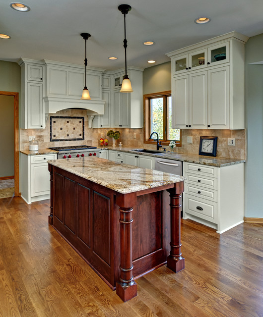 Juneau Residence traditional-kitchen