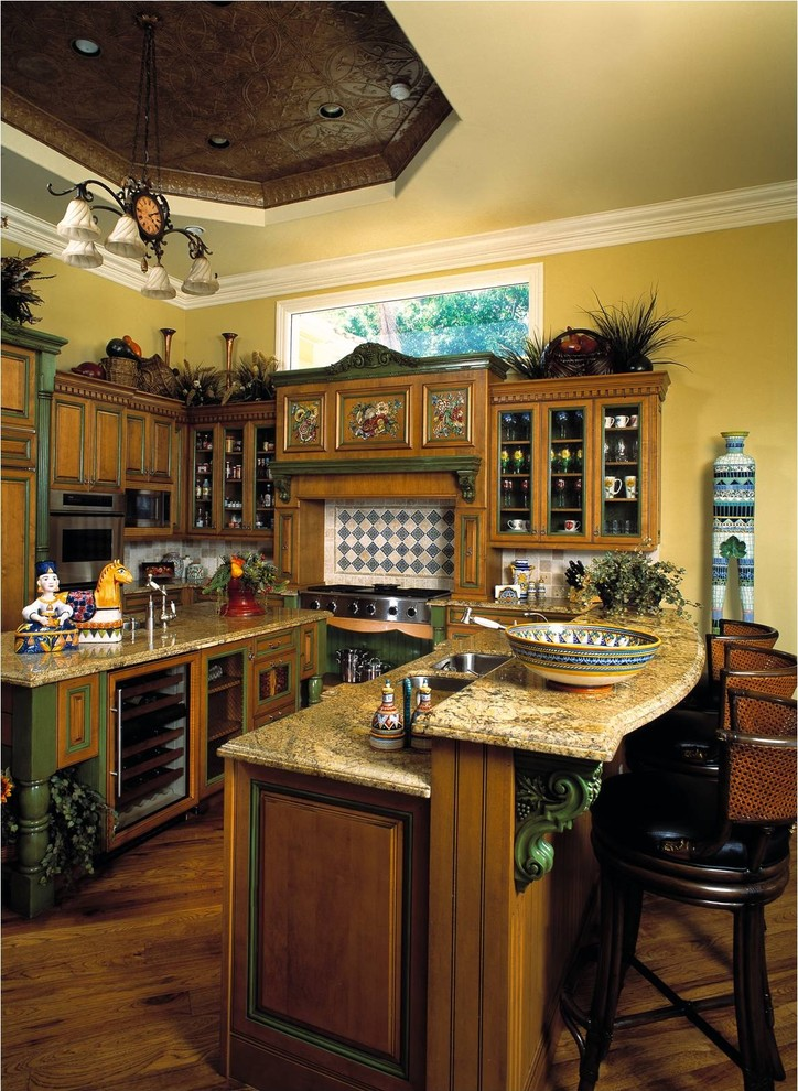 Jupiter Florida Home - Traditional - Kitchen - Miami - by ...