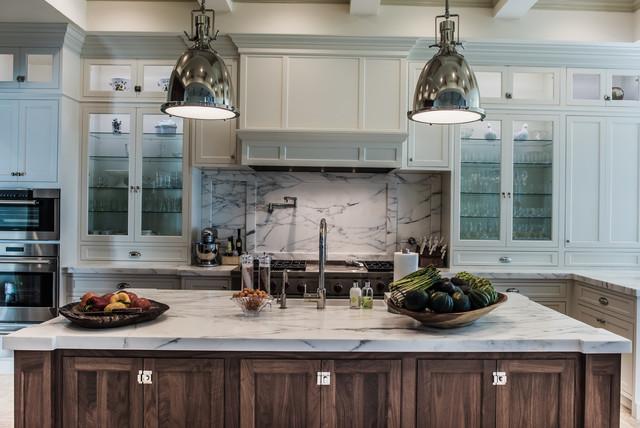 Jupiter island award winning kitchen transitional for Award winning kitchen island designs