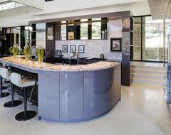 Justice Kohlsdorf Residence Kitchen modern-kitchen