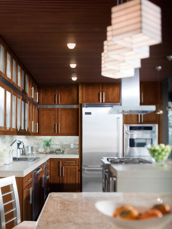 KabinetKing-Waypoint Cabinetry - KabinetKing-Style 630F in Cherry Chocolate Glaze