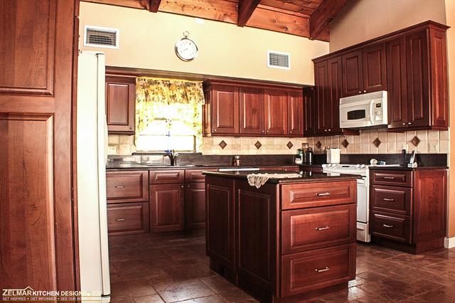 Kaiser cabico zelmar kitchen remodel traditional for Zelmar kitchen designs