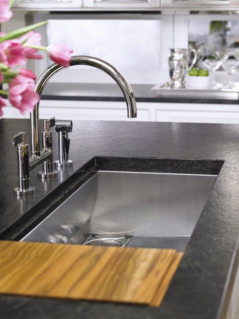 KALLISTA One faucets and Mick De Giulio sinks - Contemporary ...