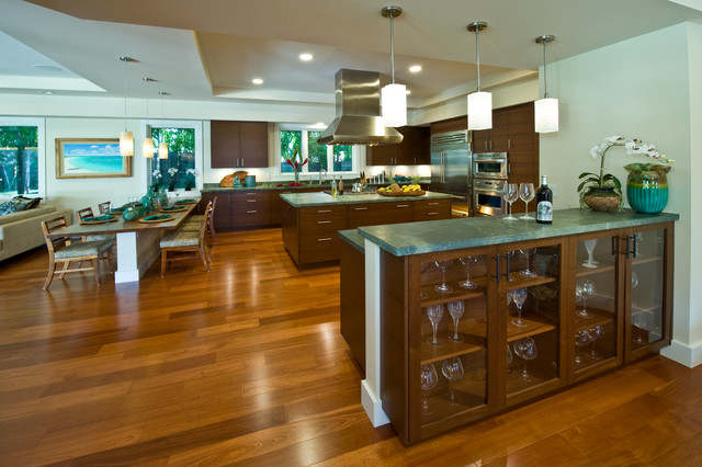 Kama 39 Aina Contemporary Contemporary Kitchen Hawaii