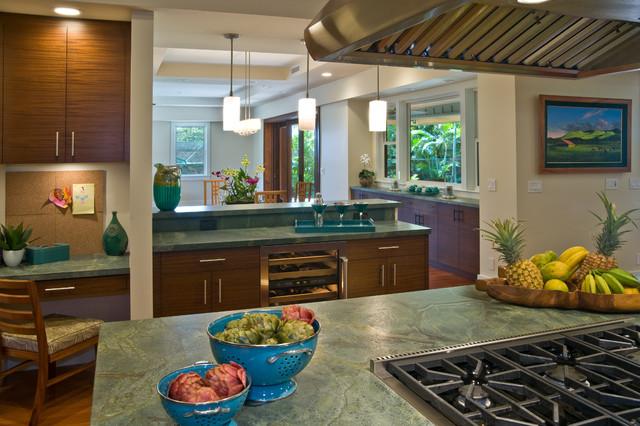 Kama 39 aina contemporary contemporary kitchen hawaii for Archipelago hawaii luxury home designs