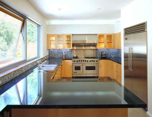 modern kitchen by Kanner Architects