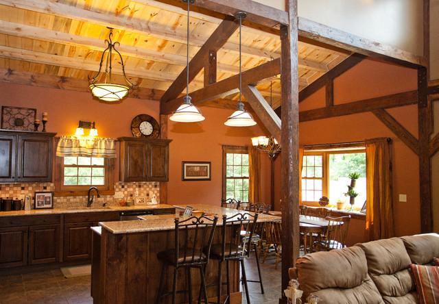 Kansas Barn Home Traditional Kitchen Other Metro