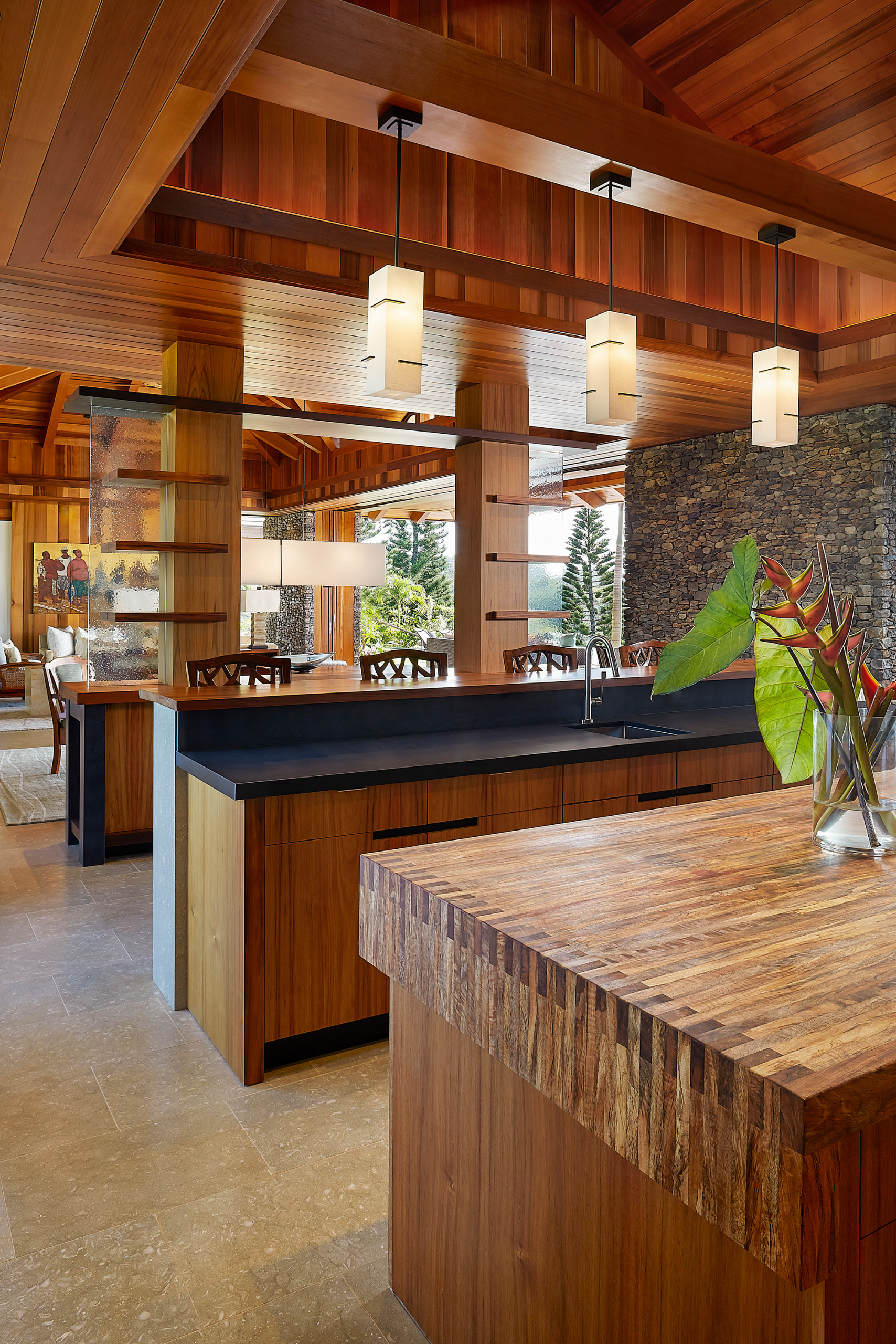 75 Beautiful Tropical Kitchen Pictures Ideas February 2021 Houzz