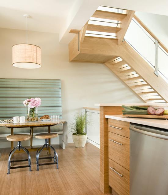 Karen Joy Interiors contemporary-kitchen