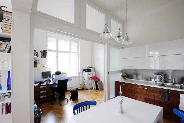 Karlin Apartment Interior modern-kitchen