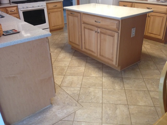 Karndean Luxury Vinyl Tile In Bel Air MD Kitchen