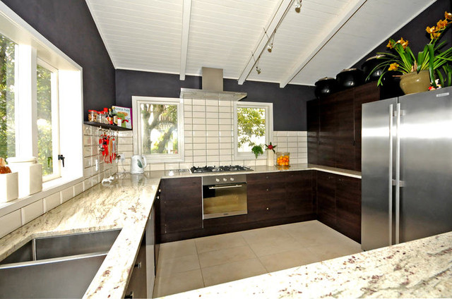 Karori home renovation contemporary kitchen