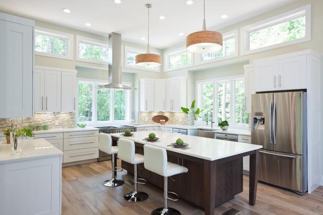 Karvelas kitchen classique chic cuisine atlanta par turan designs inc - Cuisine classique chic ...