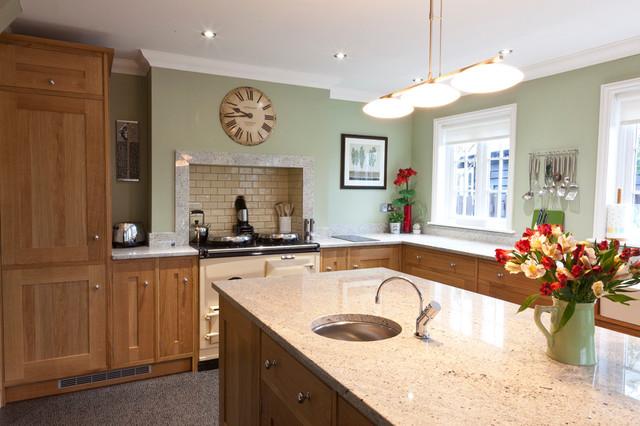 Kashmir White Granite Worktops Traditional Kitchen East Anglia By Ivett Reed Ltd