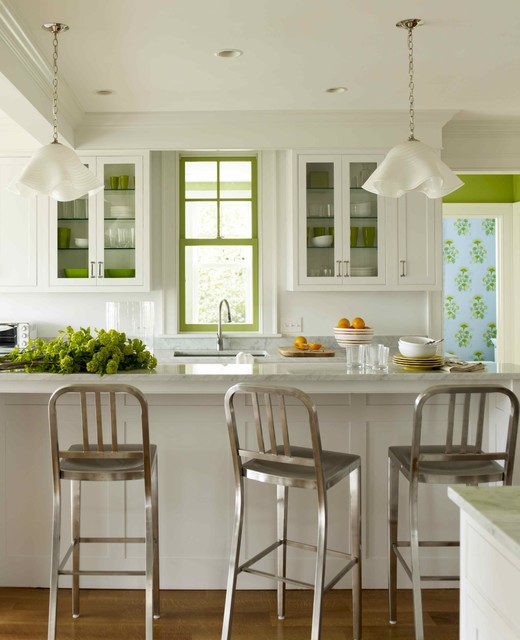 Katie Ridder Rooms contemporary kitchen