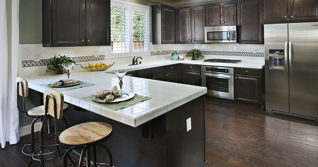 KB Homes Traditional Kitchen