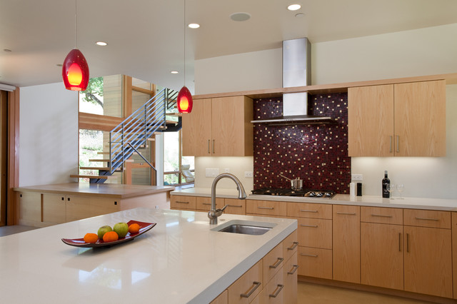 KD KENNY Builders+ contemporary-kitchen