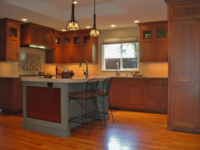 Example of a kitchen design in Denver