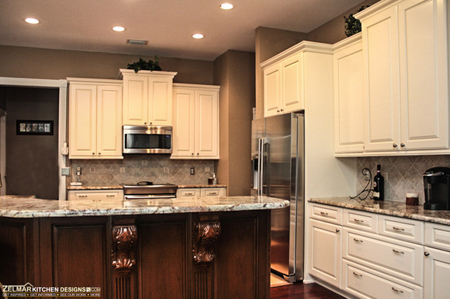 Kearns Cabico Zelmar Kitchen Remodel Traditional Kitchen Orlando By Zelmar Kitchen