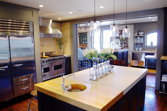 contemporary kitchen by Emily Winters