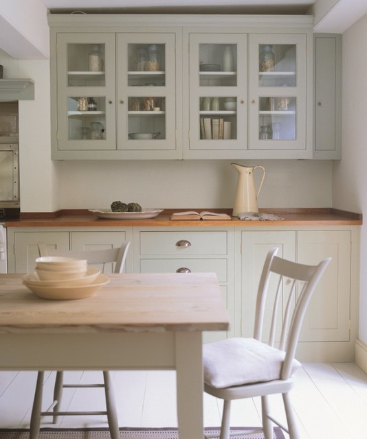 Keepable Kitchens  Farrow & Ball French Gray  Traditional  Kitchen