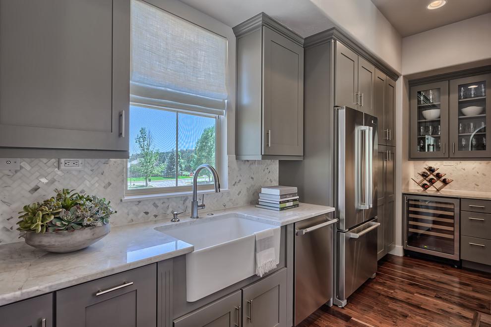Keller Homes - Transitional - Kitchen - Denver - by ...