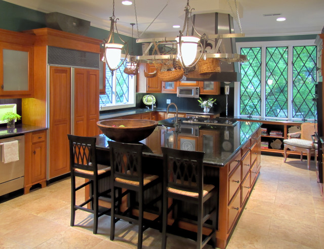 Keller Residence traditional-kitchen