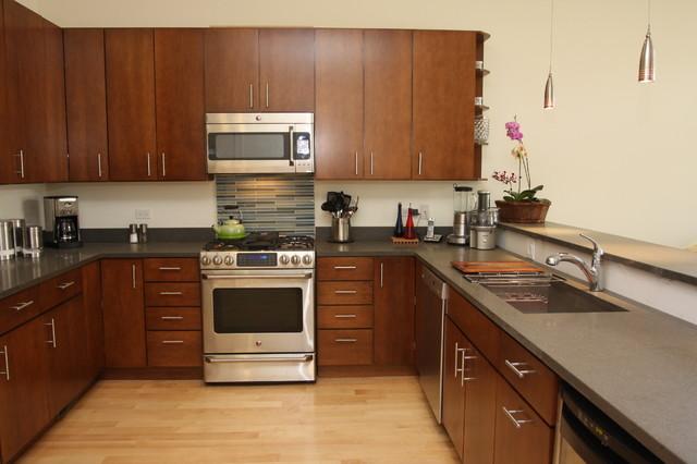 Keller Residence contemporary-kitchen