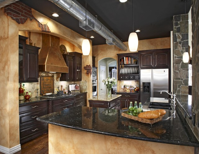 Keller Tx kitchen design and build eclectic kitchen