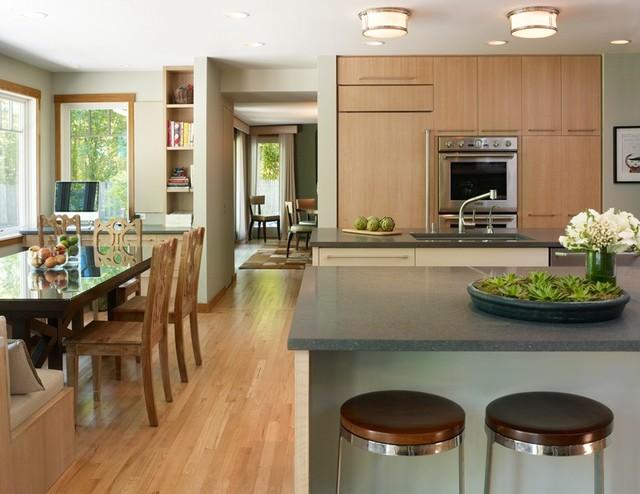 Kelly Cleveland Interiors modern-kitchen