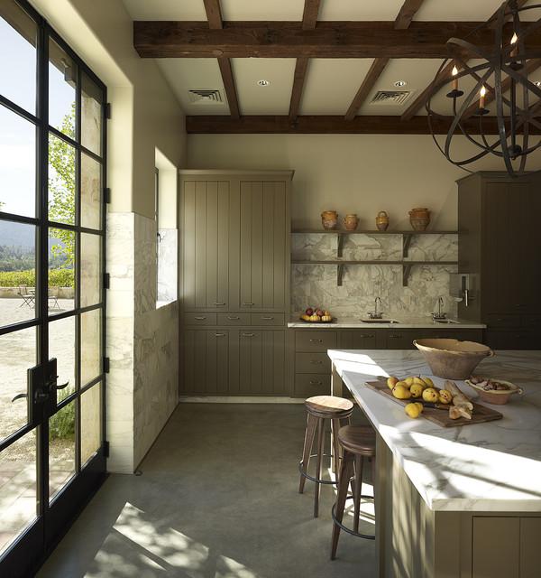 Kelly Fleming Wines kitchen