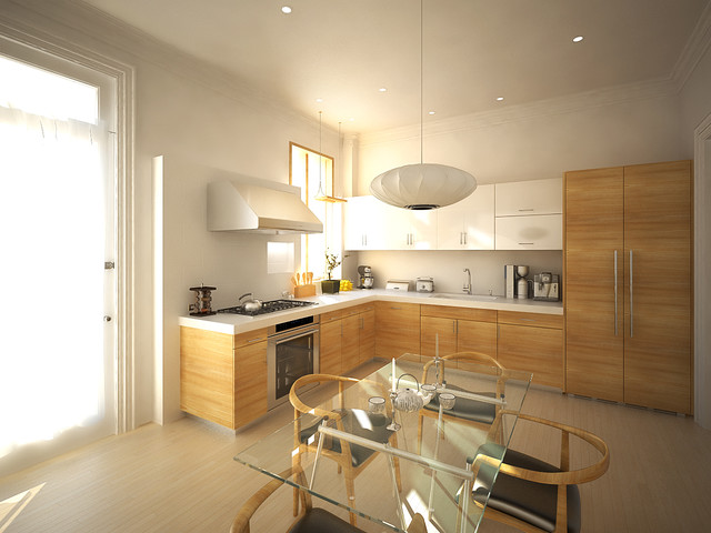 Kelly Solon contemporary kitchen
