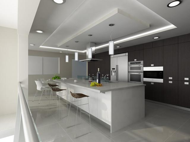 Kelvin Str., West Vancouver, BC contemporary-kitchen